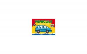 Vehicule pe autostradă - Colorez şi lipesc