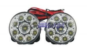 Lumini de zi rotunde 9 led*0,5W 12V Off When Headlight On