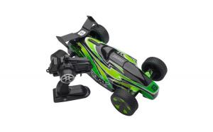 Masinuta de jucarie cu telecomanda. model off road desert. verde/negru. 48x25x21 cm