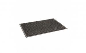 Stergator de picioare cu bordura - negru - 60 x 40 cm