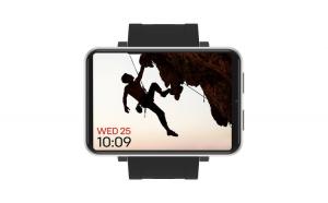 """Ceas smartwatch Domiwear Sport, Full Screen 2.86"""", Apel telefonic, GPS, Rezistent la apa, black"""