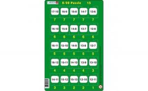 Set 16 Puzzle-uri 0 - 20, 25 Piese