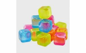 Set 24 cuburi de gheata reutilizabile