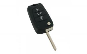 Hyundai i30 şi ix35 - Carcasă cheie tip briceag, 3 butoane
