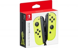 Joy-con Pair Neon Yellow Pentru Nintendo Switch