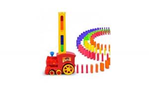 Joc domino cu locomotiva, joc de sunete