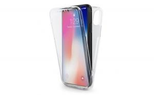 Husa Apple iPhone X Flippy Full Tpu 360 V2 Transparent