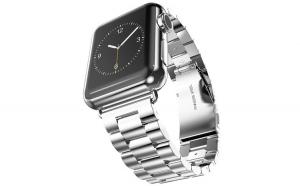 Curea Metalica Premium MTP Silver pentru Apple Watch 42mm