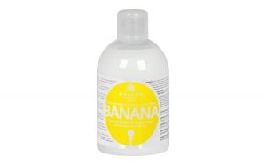 Șampon de păr cu banane și complex de
