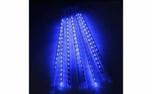 Instalatie luminoasa pentru craciun, 8 turturi cu led - lungime 50 cm