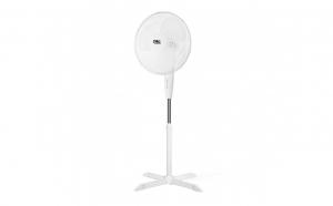 Ventilator pe stativ - 40 cm - alb, Promotii racoritoare