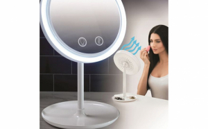 Oglinda Makeup iluminata cu ventilator