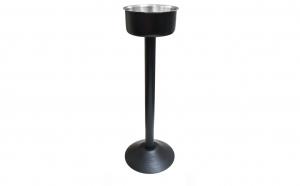 Suport frapiera inox cu picior Black , 64 cm