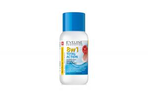 Dizolvant fara acetona, Eveline Cosmetics, 8in1 - 150 ml