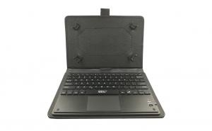 Husa tableta bluetooth cu Touchpad MRG, 10 inch, cu Tastatura, Negru C363