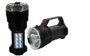 Noptile prind viata cu lanterna reincarcabila 1+8 Leduri, la doar 29 RON In loc de 59 RON