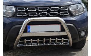 Bullbar inox dedicat DACIA Duster II dupa 2018-prezent