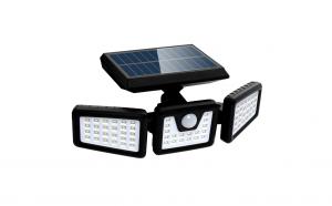 Lampa solara pentru exterior cu senzor de miscare, 74 LED-uri, baterie 2400 mAh, 3 surse de iluminare, KATHODE