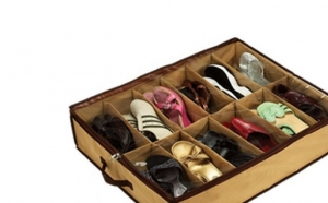Set 2 organizatoare de pantofi Shoes Under, la doar 25 RON in loc de 159 RON