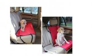 Husa scaun auto pentru animale de companie la doar 25 RON in loc de 59 RON