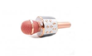 Microfon wireless sistem karaoke profesional cu boxe si Bluetooth - 2 in 1