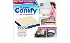 Perna cu gel Forever Comfort - reduce disconfortul produs de suprafete dure