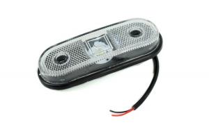 Lampa remorca laterala LED 24V  Culoare: alba Cod: GN23