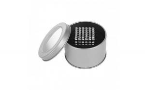 Set Bile Magnetice AntiStres 5 mm, 216 piese, Cutie depozitare Iso Trade MY17314 Argintiu