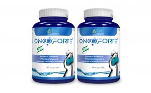 Supliment Capsule Antitumoral, Antioxidant, Anti-imbatranire, Imuno-modulator, ONCOFORTE, 120 capsule, 96 g