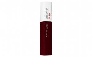 Ruj lichid mat Maybelline New York Superstay Matte Ink, 50-Voyager, 5 ml