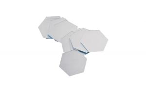 Oglinzi Design Hexagon - Oglinzi Decorative Acrilice Cristal - Diamant - MyStyle Luxury Home,Argintiu,126x110mm
