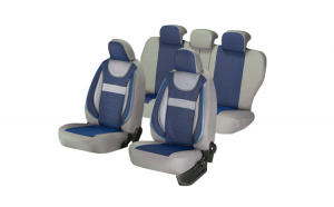 Set huse scaun dynamic albastru