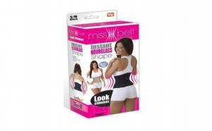 Simte-te bine in pielea ta cu ajutorul benzii Miss Belt ce aplatizeaza zona stomacului si, de asemenea, ofera suport pentru a imbunatati pozitia, la 28 RON in loc de 59 RON
