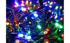 Instalatie de Craciun,  multicolor, 320 LED-uri