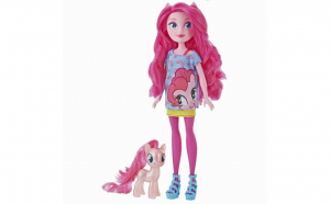 Papusa Equestria Girls Pinkie Pie cu ponei