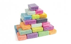 Spuma de modelat - 12 culori + plastilina magnetica