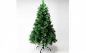 Brad artificial tip pin, verde, - 180 cm + suport metalic Cadou