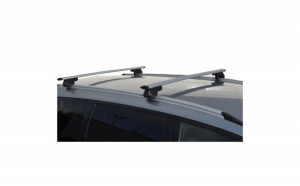 Bare Transversale Portbagaj Wingbar din Aluminiu pentru Auto cu Bare Lipite de Plafon