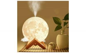 Lampa Moon de veghe cu umidificator