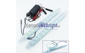 Lumini de zi DRL Flexibile 9 led*0,5W