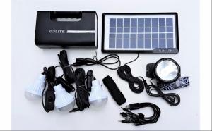Kit Solar cu Lampa U-GDLITE1, Camping