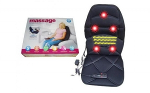 Husa pentru scaun cu incalzire si masaj: auto sau la birou