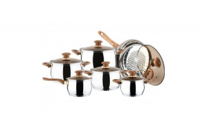 Set Oale din Inox 12 piese BL-1243 BLAUMANN FOR YOUR HOME