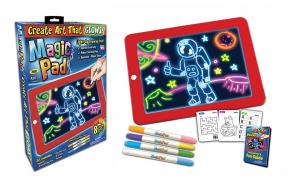 Tableta desen Magic Pad cu 8 efecte luminoase