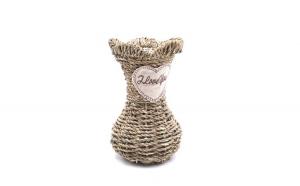 Vaza decorativa impletita,18 cm