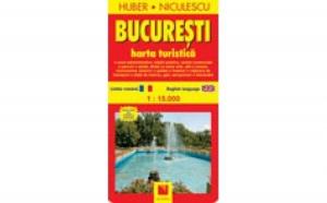 Bucuresti. Harta turistica, autor Huber Kartographie
