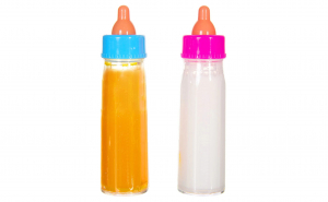 Set, Zola®, de biberoane de jucarie pentru bebelus - 2 bucati