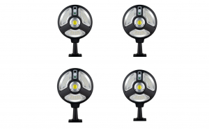 Set 4 x lampa solara 120 smd