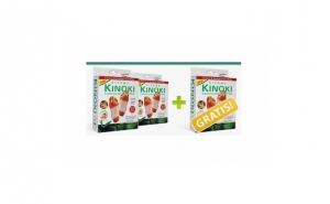 Set 30 plasturi pentru detoxifiere Kinoki