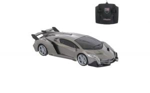 Masinuta sport de jucarie cu telecomanda.model lamborghini. gri. 26x10.5x11 cm